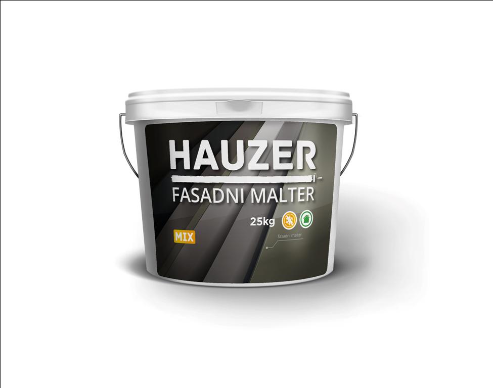 Potrošnja:  zrno 1.5 mm - cca. 2,5 kg/m2;      zrno 2.0 mm – cca. 3 kg/m2.  Pakovanje: 25 kg